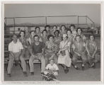 [Woman Marine softball team, 1955]