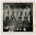 [Dolores Hamrick and fellow Women Marines, circa 1955]