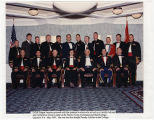 "[M.V. ""Ginger"" Jacocks and students of the Marine Corps Command and Staff College, 1997]"