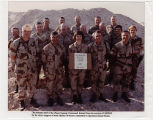 [The primary staff of the Direct Support Command for Operation Desert Storm, circa 1991]