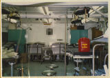 [Army evacuation hospital structure interior, Saudi Arabia, 1991]
