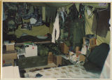 [Interior of a U.S Army living quarters tent, Saudi Arabia, 1991]