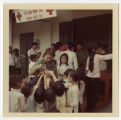 [Unnamed woman with children, Vietnam]