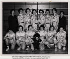 [Jo Anne Kilday and the Camp Lejeune Women Marines basketball team, 1960]