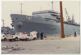 [Photograph of the USS Yellowstone (AD-41), 1992]