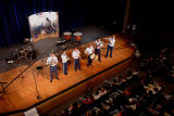 [Photograph of Academy Winds in concert, 2005]