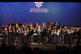 [Group photograph of The United States Air Force Academy Band, 2010]
