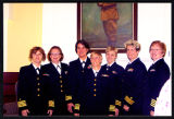 [Group photograph of Camp Lejeune navy nurses]