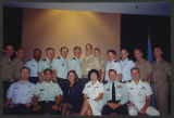 [Group photograph featuring Lieutenant Commander Elizabeth Taggart, 2007]