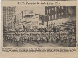 WACs parade in Salt Lake City [1944]