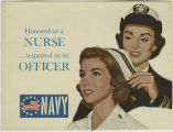 Honored as a nurse...respected as an officer [1964]