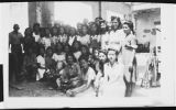 [Ethel Palma with her Filipino employees, 1944]