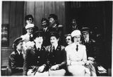[Mary Jane DeWan and group leave for Ft. Leavenworth, 1943]