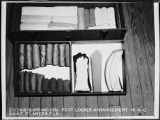 [WAC foot locker arrangement at Ft. Myers, Florida, 1945]