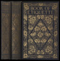 Book of etiquette [binding]