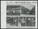 Raymond and Helen T. Binford -- News Clipping [subject file]