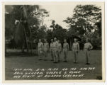 [Brigadier General George C. Usher and his Staff]