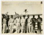 [Colonel Younts with Other Members of the 13th AAF]