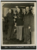 [Colonel Younts Dedicates N.C.O. Club]