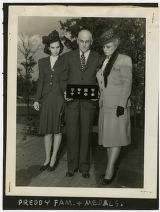 [Preddy Family and Medals]