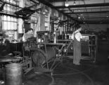 [Men Working in the Warping Room, Cone Mills]