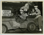 [Santa Visits the Army Camp]