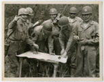 [Soldiers Studying a Map]