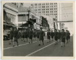 [Female Soldiers Marching in Parade]