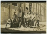 [Male mill workers]