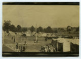 [Tents at the fairgrounds]