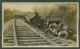 [Rail car accident]
