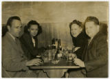 [Lewis and Beth Pucket Dining with Friends, Puckett Family Papers]