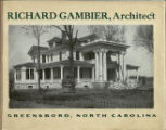 Richard Gambier, architect