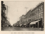 Elm Street, south from Washington Street