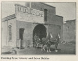 Fleming Bros. Livery and Sales Stables