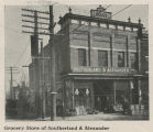 Grocery store of Southerland & Alexander