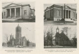 [Four churches in Greensboro]