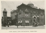 City hall and municipal theatre