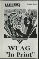 "WUAG ""In print"" [Spring 1988]"