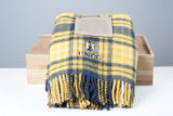 UNCG Spartan Tartan Blanket and Commemorative Box