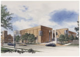 Architectural Rendering of Cone Building