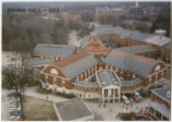 Aerial veiw of the dining halls