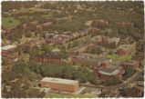 Aerial view of The University of North Carolina at Greensboro