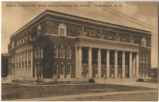 [Auditorium, North Carolina College for Women, under construction]