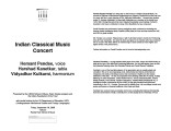 2008-09-19 Indian Classical [recital program]
