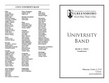2010-10-06 University Band Concert 10 [recital program]