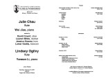 2011-02-19 Ogilvy Chau [recital program]