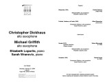 2004-02-21 Dickhaus Griffith Lopartis Wranovix [recital program]