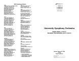 2004-02-24 UNCG Symphony Orchestra [recital program]