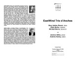 2004-02-26 Eastwind Trio [recital program]